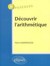 Decouvrir L'Arithmetique - Intérieur - Format classique