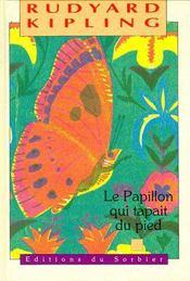 La papillon qui tapait du pied - Couverture - Format classique
