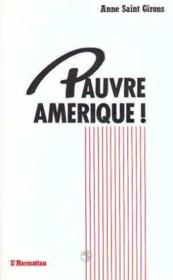 Pauvre Amerique - Couverture - Format classique