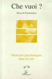 Moments Psychotiques Dans La Cure - Couverture - Format classique