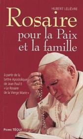 Rosaire pour la paix et la famille - Couverture - Format classique