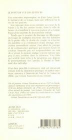 Les Saints Geographes - 4ème de couverture - Format classique