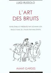 L'Art Des Bruits - Couverture - Format classique
