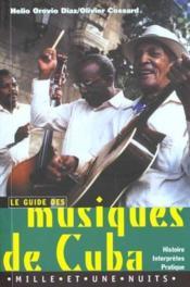 Musiques De Cuba - Couverture - Format classique