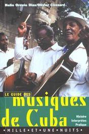Musiques De Cuba - Intérieur - Format classique