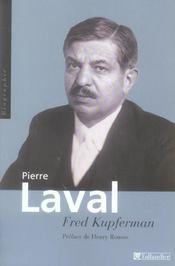 Pierre Laval - Intérieur - Format classique