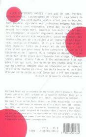 Rutilant néant - 4ème de couverture - Format classique