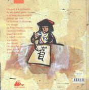 Liu et l'oiseau - 4ème de couverture - Format classique