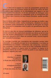 Cours De Comptabilite Generale - 4ème de couverture - Format classique