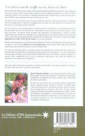 Fleurs De Bach - Je Suis Alchimie - 4ème de couverture - Format classique