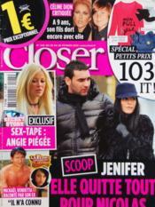Closer N°245 du 20/02/2010 - Couverture - Format classique