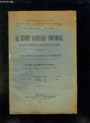 Faculte Mixte De Medecine Et De Pharmacie N° 126. Le Livret Sanitaire Individuel Sa Realisation A Bordeaux En 1929. - Couverture - Format classique
