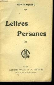 Lettres Paysanes Tome 3. Collection : Les Meilleurs Livres N° 36. - Couverture - Format classique