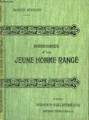 Memoires D'Un Jeune Homme Range. - Couverture - Format classique