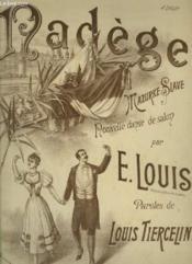 Nadege - Mazurke Slave Pour Piano. - Couverture - Format classique