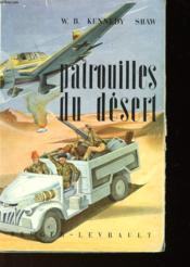 Patrouilles Du Desert - Couverture - Format classique