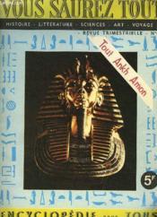 Vous Saurez Tout - N°1 - Juin 1967 - Couverture - Format classique