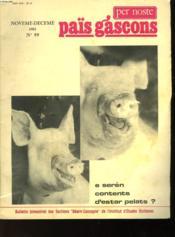 Païs Gascons - N°99 - Noveme - Deceme - Couverture - Format classique