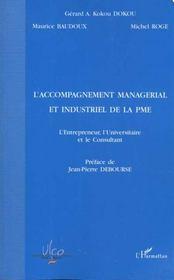 L'Accompagnement Managerial Et Industriel De La Pme - Intérieur - Format classique