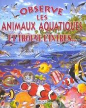 Observe les animaux aquatiques et trouve l'intrus... - Intérieur - Format classique
