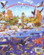Observe les animaux aquatiques et trouve l'intrus... - 4ème de couverture - Format classique