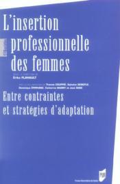 Insertion Professionnelle Des Femmes - Couverture - Format classique