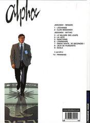 Alpha t.9 ; scala - 4ème de couverture - Format classique
