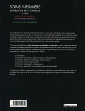 Soins infirmiers en médecine et en chirurgie t.4 ; fonctions rénale et reproductrice - 4ème de couverture - Format classique