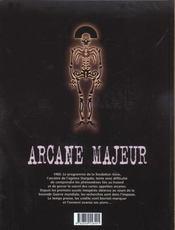 Arcane majeur t.1 ; Pandora - 4ème de couverture - Format classique