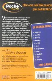 Poche Micro Nero 7 Premium - 4ème de couverture - Format classique