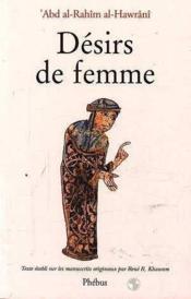 Desirs De Femmes - Couverture - Format classique