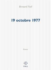 Le 19 octobre 1977 - Couverture - Format classique