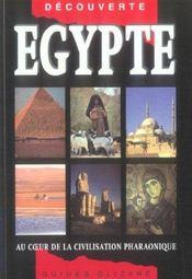 Egypte, au coeur de la civilisation pharaonique - Intérieur - Format classique