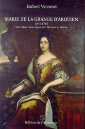 Marie De La Grange D'Arquien - Couverture - Format classique
