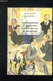 Conversations Et Souvenirs Autour Du Vin - Couverture - Format classique