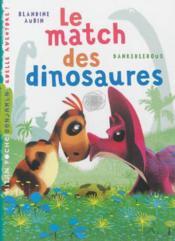 Le match des dinosaures - Couverture - Format classique