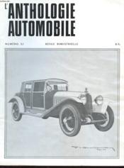L'Anthologie De L'Automobile N°32 - Couverture - Format classique