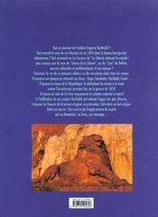 Bartholdi - 4ème de couverture - Format classique