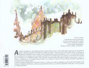 Carnets d'un peintre sur le chemin de compostelle - 4ème de couverture - Format classique