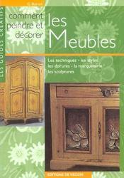 Comment Peindre Et Decorer Les Meubles - Intérieur - Format classique
