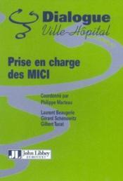 Prise En Charge Des Mici - Couverture - Format classique