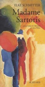 Madame Sartoris - Couverture - Format classique