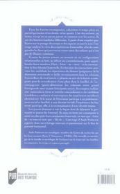 Enfants De Familles Recomposees. Sociologie Des Nouveaux Liens Fraternels - 4ème de couverture - Format classique
