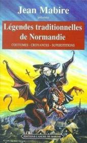 Legendes Traditionnelles Normandie - Couverture - Format classique
