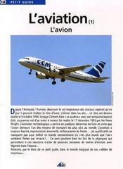 L'Aviation - Couverture - Format classique