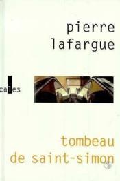 Tombeau De Saint-Simon - Couverture - Format classique