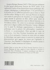 Traité du libre arbitre - 4ème de couverture - Format classique