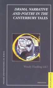 Drama, Narrative And Poetry In The Canterbury Tales - Intérieur - Format classique