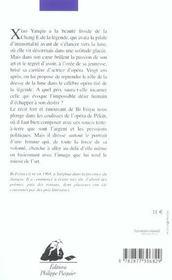 L'Opera De La Lune - 4ème de couverture - Format classique