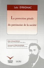 Protection pénale du patrimoine - Intérieur - Format classique